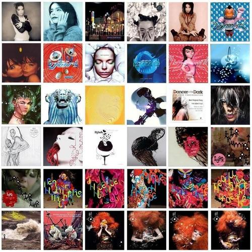 Bjork Lote Coleccion Singles