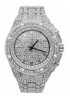 Blinged 10227 Reloj De Lujo Para Hombre Diseño De Hip Hop D
