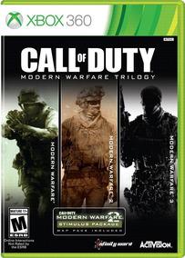 Call Of Duty: Modern Warfare 2, 3, 4 + Dlc Coleção Xbox 360