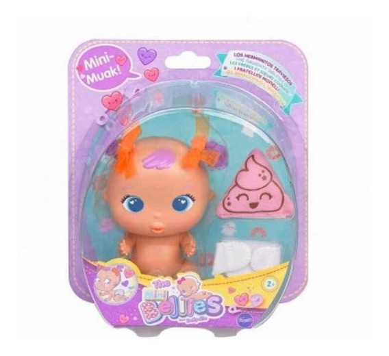 Bellies Mini Bebe C/ruidito Y Acc Int B14789 Original Famosa