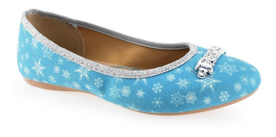 Sapatilha Infantil Menina Frozen Ice 21461 Azul Grendene