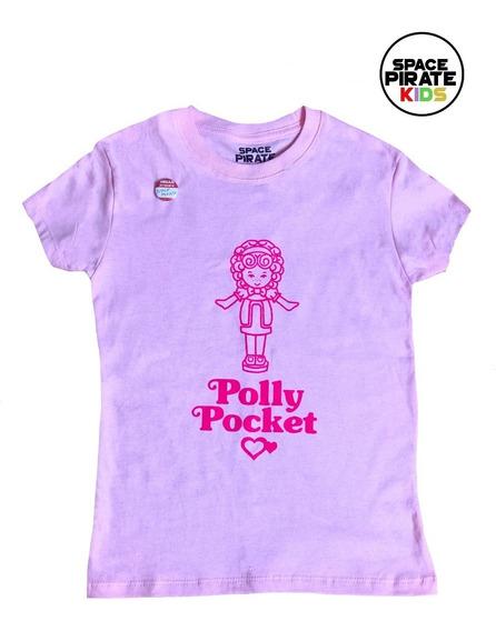 Playera Polly Pocket Niña - Space Pirate