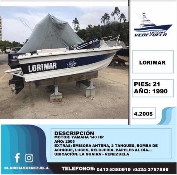 Lancha Lorimar 21 Lv188