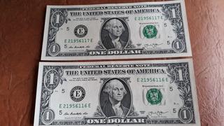 Billetes De Un Dolar Correlativos