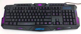 Teclado Gamer Luminoso Led Neon Usb Legends Ltk-009