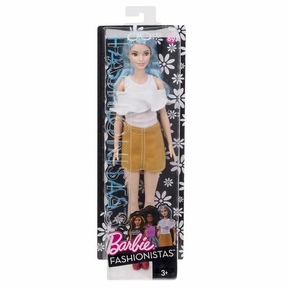 Barbie Fashionista Colecionador Cabelo Azul