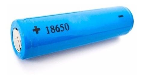 18650 Bateria Recarregável 3.7v Li-ion Para Lanterna Tatica Entre Outros Ex@