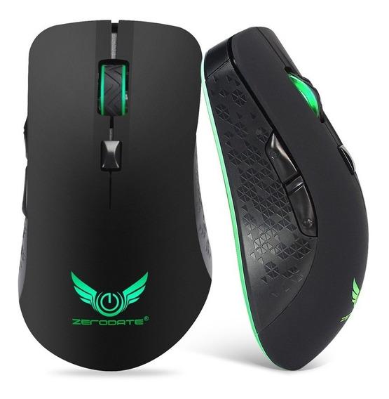 Zerodate X90 2.4g 2400 Dpi Mouse Móvel Portátil Sem Fio