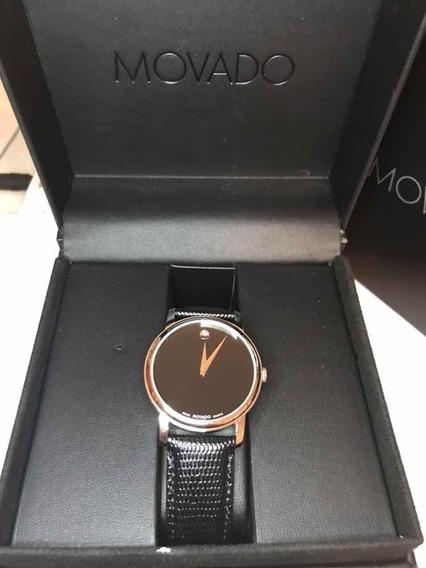 Relógio Movado Masculino Preto Quartz Classic