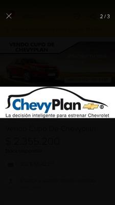 Chevyplan Vendo Cupo