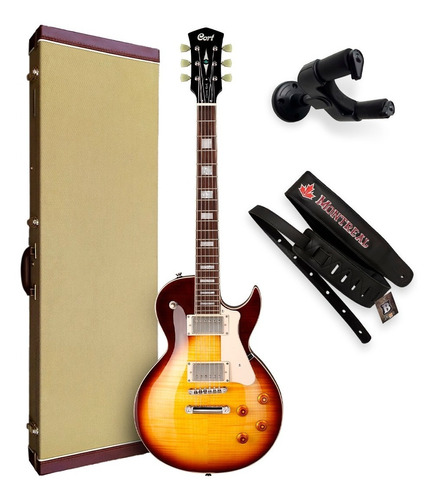Imagem 1 de 10 de Guitarra Les Paul Cort Classic Rock Cr250 Vb C/ Case + Nfe