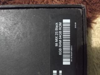 Celular Usado Xiaomi Mi Mix S2 Black