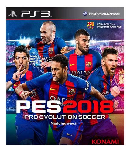 Imagen 1 de 3 de Pro Evolution Soccer 2018 Standard Edition Konami Digital Entertainment PS3 Digital