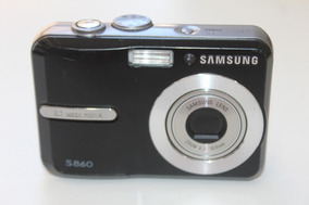 Câmera Samsung S860 8.1 Megapixels Usada