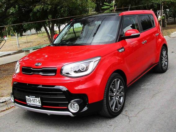 Kia Soul Sx Turbo 2019 Color Rojo