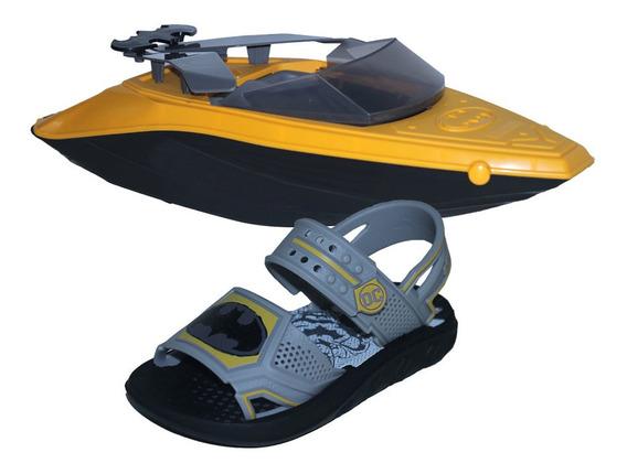 Sandalia Grendene Batmam Boat 22148