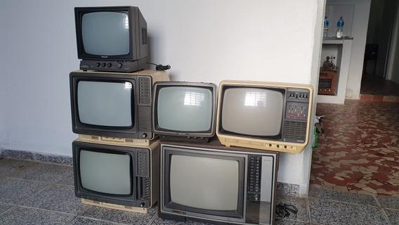 Tvs Televisões Antigas Funcionando