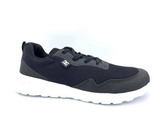 Tênis Dc Shoes Hartferd Preto Original C/nota
