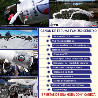 Alquiler De Cañon De Espuma Para Fiestas Quito