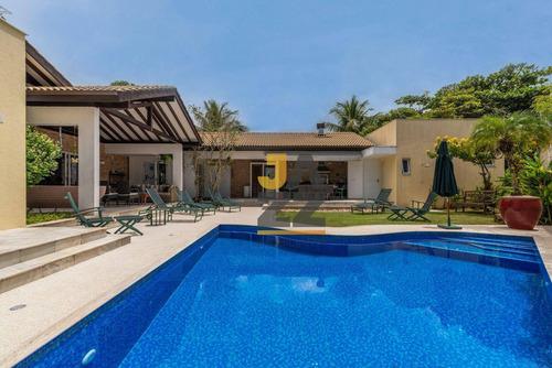 Imagem 1 de 30 de Casa Com 5 Dormitórios À Venda, 445 M² Por R$ 5.500.000,00 - Cond. Hanga Roa - Bertioga/sp - Ca13900
