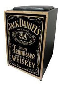 Cajon Acústico Jaguar Cj1000 K2 Pb 005 Jack Daniels