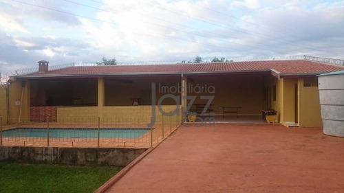 Chácara Com 1 Dormitório À Venda, 800 M² Por R$ 450.000,00 - Parque São Bento - Sumaré/sp - Ch0100