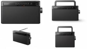Rádio Sony Icf-306 Fm/am Led