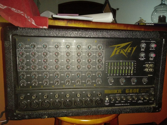 Mixer/mesa De Som Amplificada Peavey (usa)