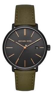 Reloj Michael Kors Hombre Cuero Clasico Mk8676