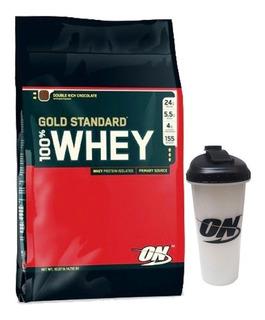 Whey Gold Standard X 10 Lb + Vaso - Optimum Nutrition