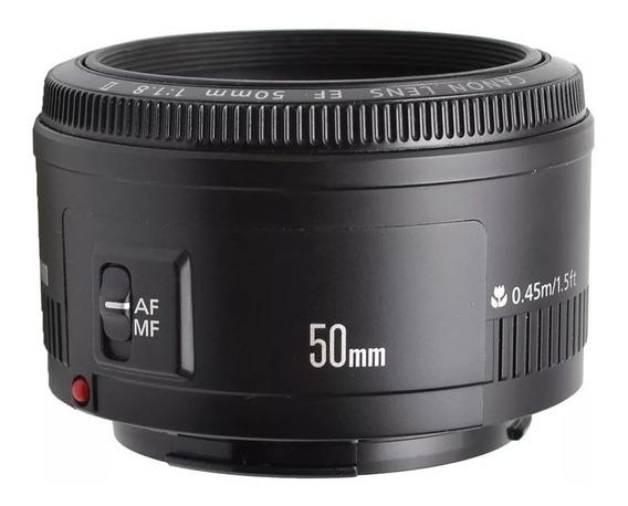 Lente Canon Ef 50mm F/1.8 Ii Uma C/funguinho E Outra Poeira