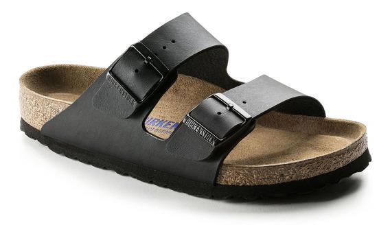Birkenstock Sandália Arizona Bf Soft Foot Regular Preto 12x