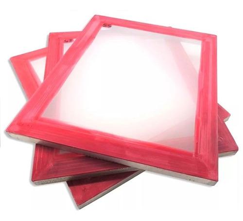 Bastidor De Aluminio Para Serigrafia 50x60 Cm Malla 60 H
