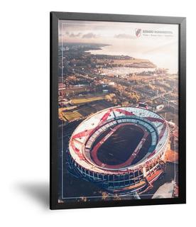 Cuadros Camisetas River Plate Estadio Monumental 35x50cm
