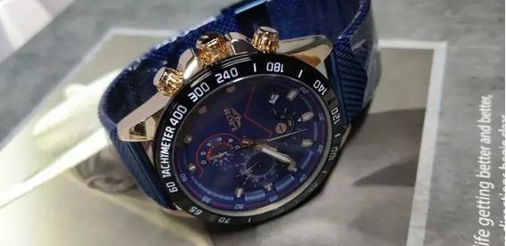 Relógio Lige 9929 Original Em Malha De Aço Inoxidável