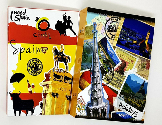 2 Albuns Spain/germany 10x15/208 Fotos C/memo Tot 416 Fotos