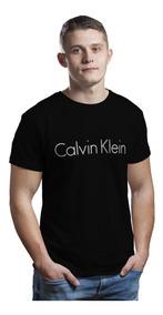 Camiseta Blusas Manga Curta Camisa Roupas Calvin Klein