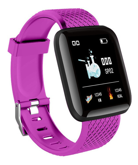 Smartband 116 Plus/d13 Ip67 Impermeable -púrpura -60
