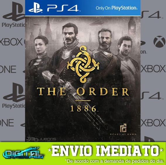 The Order 1886 Ps4 Psn Jogo Digital Envio 10 Min Original