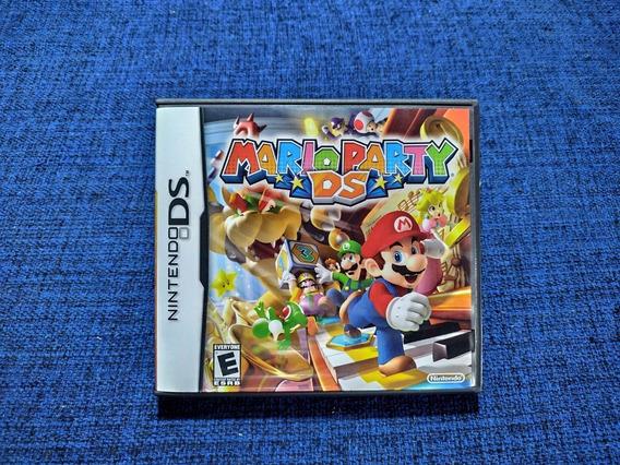 Mario Party Ds Nintendo Ds 3ds Completo Semi-novo Usado
