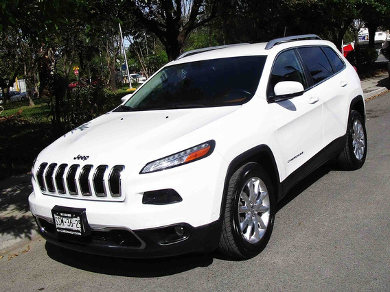 Jeep Cherokee Limited 2014 Color Blanco
