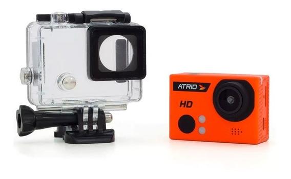 Câmera Filmadora De Ação Atrio Fullsport Hd 720p 5mp Dc-186