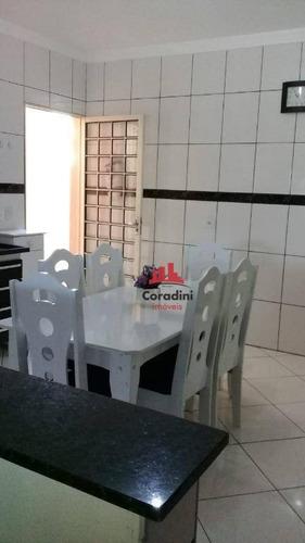 Imagem 1 de 18 de Casa Com 3 Dormitórios À Venda Por R$ 320 - Jardim Boer I - Americana/sp - Ca2075