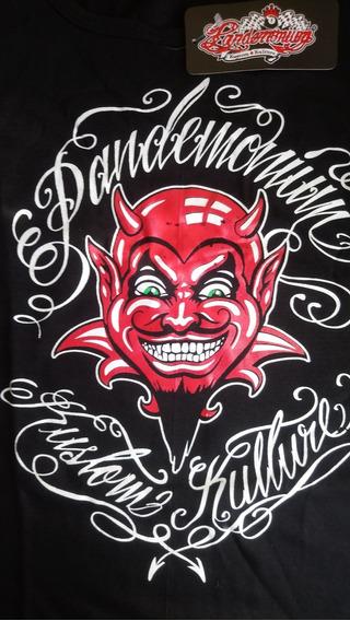 Remera Pandemonium Kustom Kulture Nueva Original