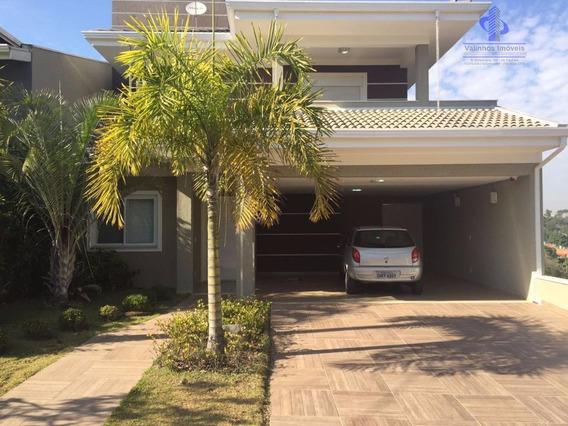Casa Residencial À Venda, Condomínio Bosque Dos Cambarás, Valinhos. - Ca1621