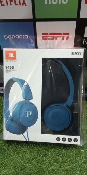 Audífonos Jbl T450 Pure Bass Sound Originales+garantía