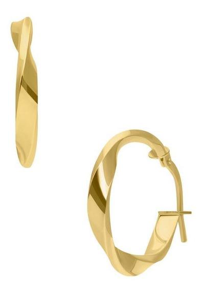 Arracadas Bizzarro Oro Amarillo Espiral 14k-or41514y