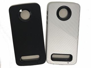Funda Motorola Moto Z Play Tpu Resistente Antigolpe