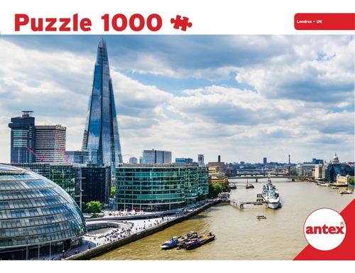 Puzzle 1000p Londres Reino Unido Rompecabeza Antex 3059 Full