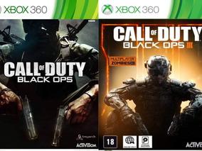 Call Of Duty Black Ops 1 E 3 Mídia Digital Xbox 360
